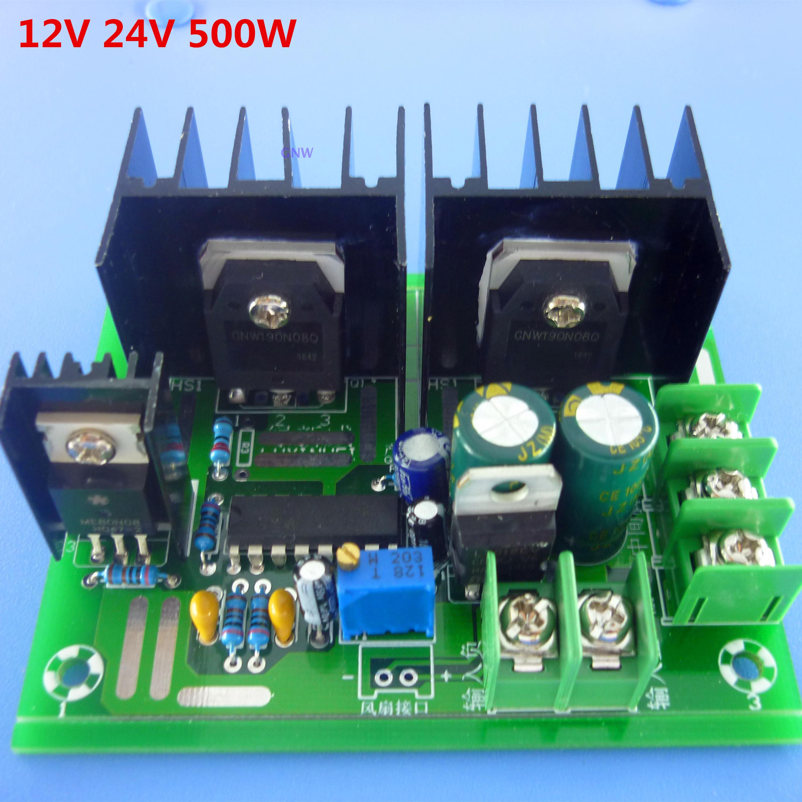 Low frequency inverter, 50HZ core transformer, inverter drive board, power frequency inverter drive circuit board inverter drive board power frequency transformer driver board dc12v to ac220v home inverter drive board