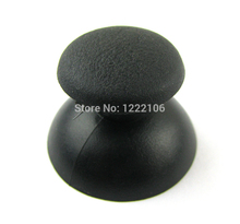 100 pçs/lote substituição 3d vara analógico joystick polegar aperto vara capa caps escudo para playstation 3 ps3 controlador