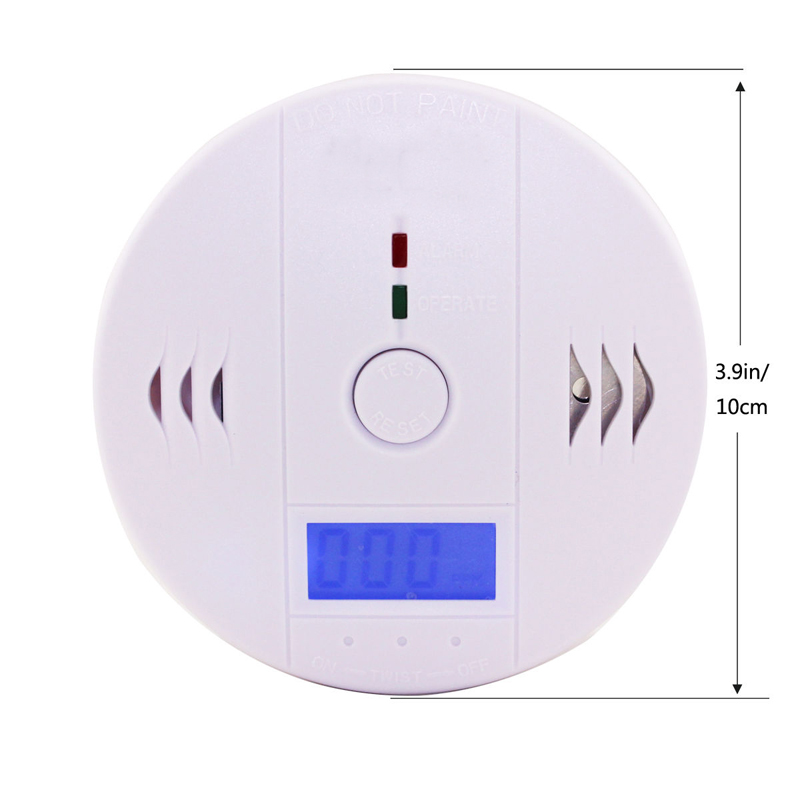 Redeagle White Co Carbon Monoxide Smoke Sensor Gas Leak Warning Alarm High Sensitive Lcd Detector Back To Search Resultssecurity & Protection