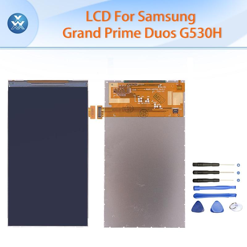 LCD For Samsung Galaxy Grand Prime Duos G530 G530H G530F LCD display screen 5 inch pantalla black free tools
