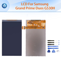Lcd para samsung galaxy grand prime duos g530h g530 g530f pantalla lcd pantalla de visualización de 5 pulgadas negro herramientas gratuitas