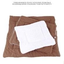 TH Cute Dog Blanket Mat Pet Warm Dog Puppy Fleece Soft Blanket Beds Mat Pet Cushion Dog Cat Bed Soft Warm Sleep Mat