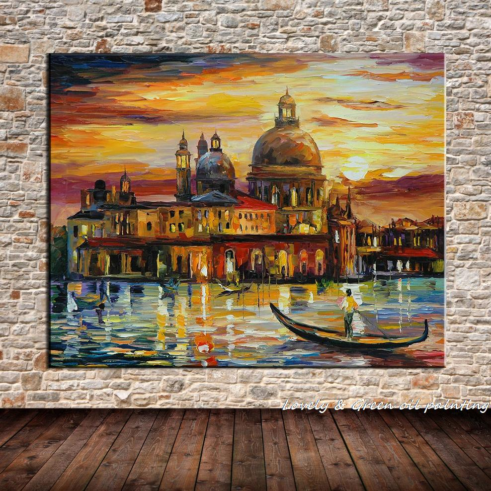 online buy wholesale oil painting castle from china oil painting