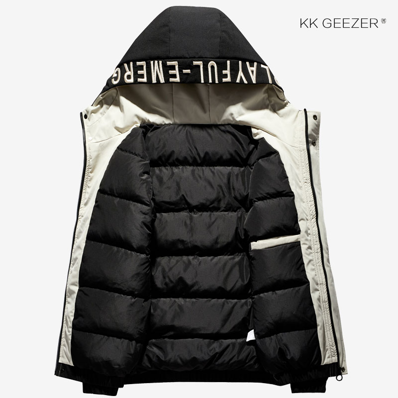 Winter Jacket Down Men Hooded Thick Warm Military 85% Duck Men Parkas Thick Padded Waterproof Casual Loose 2019 Coat Plus Size