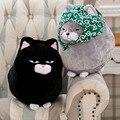 Горячие Продажи Вырезать Кошка Плюшевые Игрушки Световой Плюшевые Подушки Кошка подушки Детские Игрушки Чучела Мяч Форма Животных Куклы Подарок На День Рождения D73Z