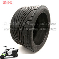 215/40 12 Tyre Front or Rear 12inch Electric Scooter Vacuum Tires For Harley Chinese Bike