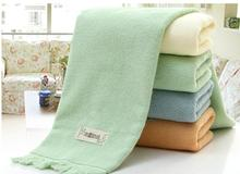 Creative gifts towel thick cotton pastoral Story tassels large adult soft washcloth Gifts