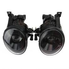 ФОТО  1pair front halogen convex lens fog lights for vw beetle golf mk6 caddy 2k eos tiguan 5k0941699 5kd941699 5k0941700 5kd941700