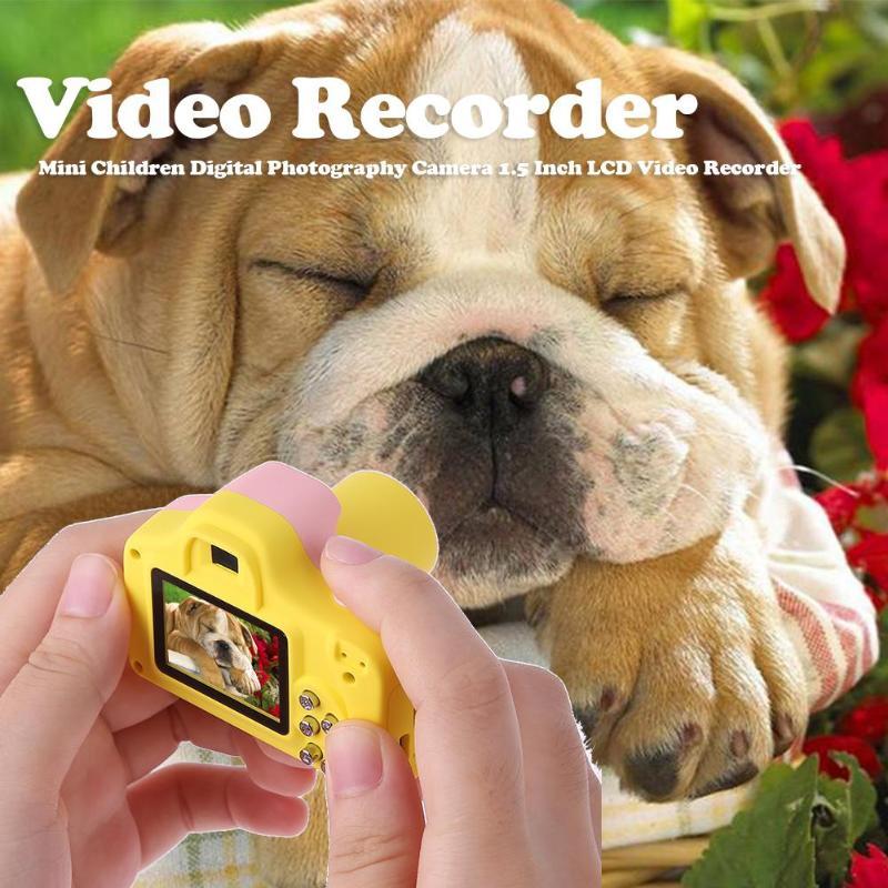 VKTECH Enfants Numérique caméra de photographie Enfants Mini 1.5 Pouces LCD enregistreur vidéo DVR Caméscope 32G TF Carte L'éducation jouet appareil photo - 4