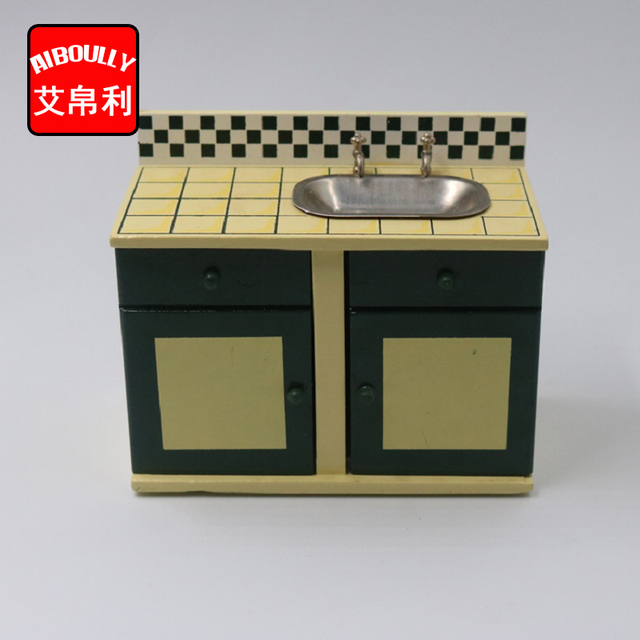 1 12 Dollhouse Miniature Kitchen Wooden Stove Cooking Play Doll House Furniture Accessories Toys For Children Christmas Gift
