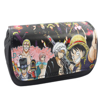 Fairy Tail Sword Art Online One Piece Dragon Ball Teddy Makeup Cosmetic Brush Travel Bag Case