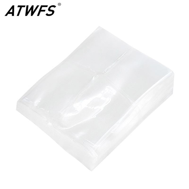 Вакуумные пакеты ATWFS 100 шт./лот, кухонные вакуумные пакеты для пищевых продуктов