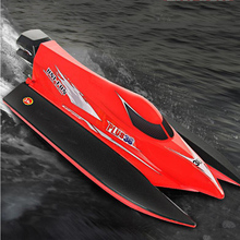 Remote Control Speedboat Charge Racing Boat 2.4G Charging High Speed Competitive Ship ModelElectric ChildrensToy Yacht Gift