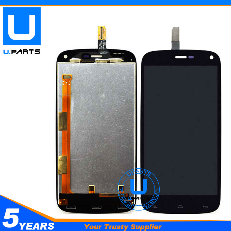 A++ Quality LCD Display Screen With Touch Panel Assembly For Fly IQ4410 Quad Phoenix IQ 4410 Digitizer Panel Replacement 1PC/Lot