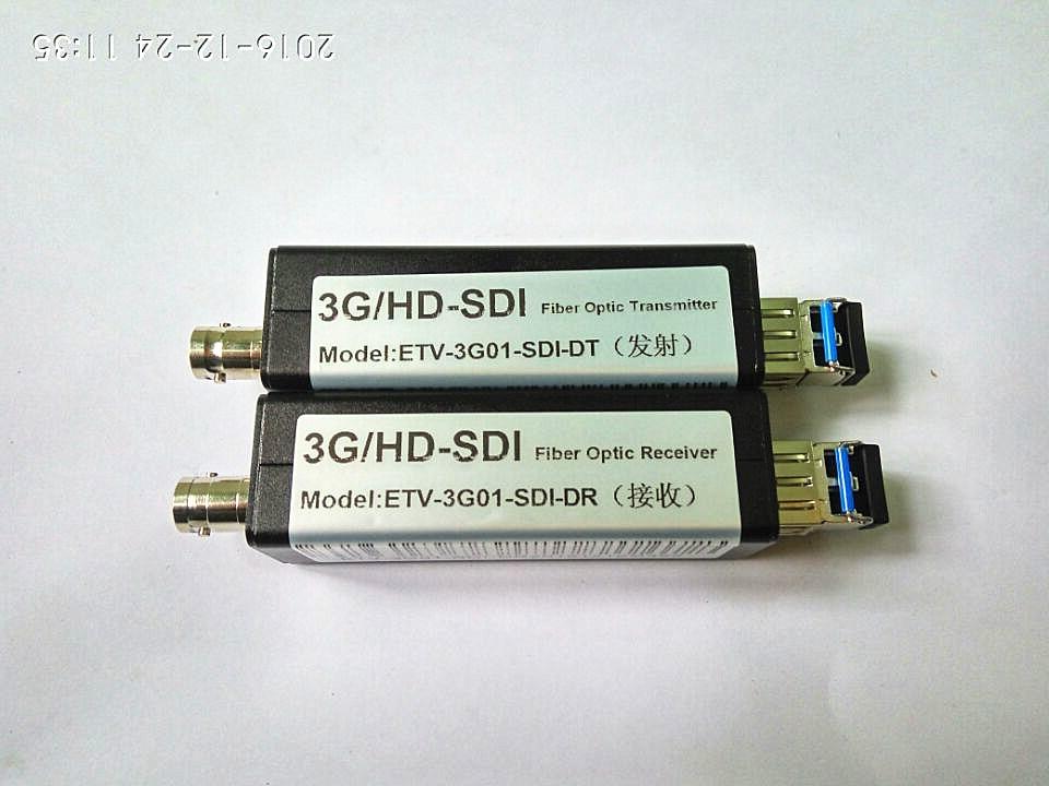 3G-SDI optical transceiver Uncompressed Engineering Grade SDI High Definition Optical Fiber Transmission Converter 1080P Single 3G-SDI optical transceiver Uncompressed Engineering Grade SDI High Definition Optical Fiber Transmission Converter 1080P Single