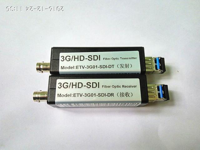 SDI 3G-SDI Descompactado transceptor ótico da Classe da Engenharia de Alta Definição de Transmissão de Fibra Óptica Conversor 1080 P Único