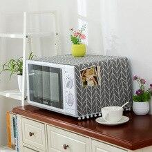 3ae73e97a بسيطة الميكروويف غطاء المايكرويف هود النفط غطاء غبار مع حقيبة التخزين اكسسوارات  المطبخ لوازم المنزل الديكور