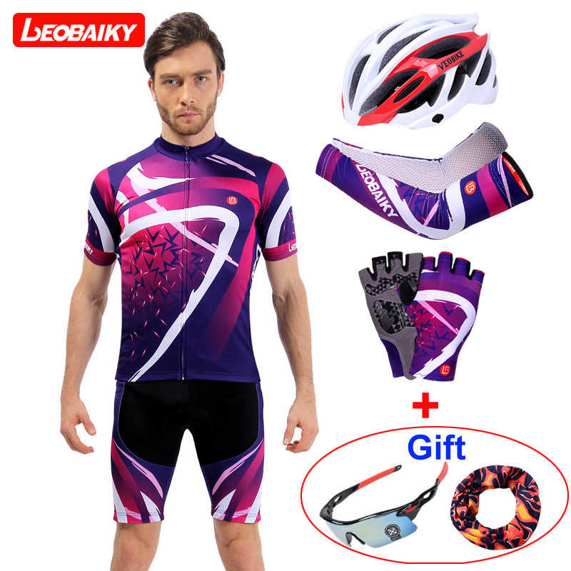 LEOBAIKY 2018 Summer Short Sleeve Cycling Set Mountain Bike Clothing Breathable Bicycle Jerseys Clothes Maillot Ropa Ciclismo cycling clothing summer men cycling jerseys bike clothing bicycle short ropa ciclismo breathable sportwear bike clothes page 4