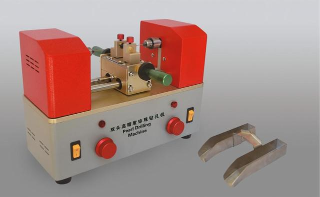 Bi-directional drilling machine Cheap Jewelry Tools Pearl Holing Machine Bead Drilling Machine Two-way Mini Drilling Machine ght