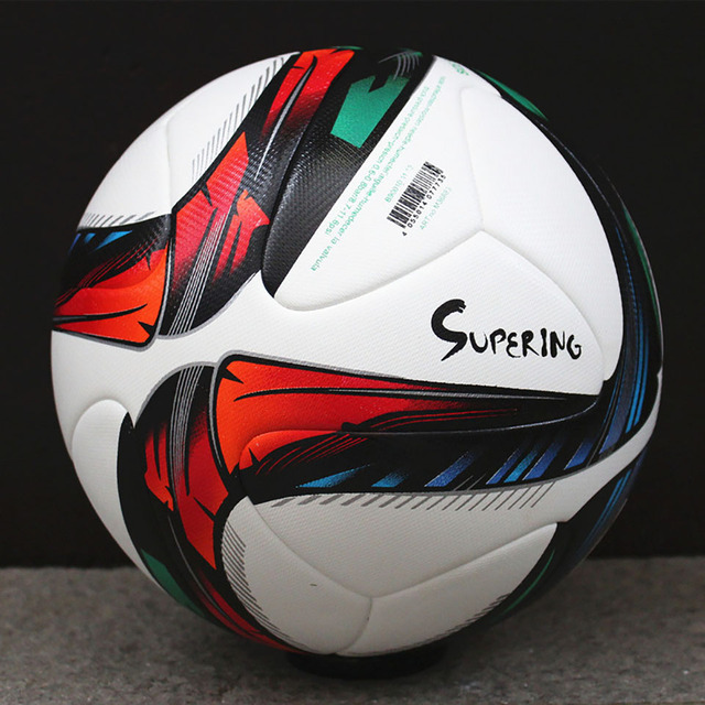 eb3f91b195b Cup 2018 Official Size 5 Soccer The Running Color Design Football Ball  Using for Champions League Training Game