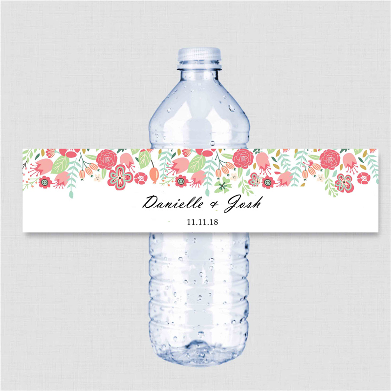 Wedding Water Bottle Labels.Us 9 99 Personalized Wedding Water Bottle Labels Stickers Thank You Tags Place Cards Business Baby Shower Bridal Shower Proposal Cards In Party Diy