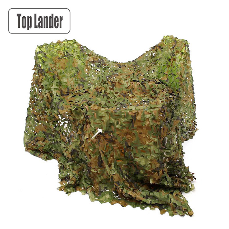 Militaire Camouflage Netting Military Camo Decoration Shade Mesh Army Green Hunting Outdoor Camping Sun Shelter Tarp Tent Beach vilead 3m 7m military camouflage netting camouflage hunting tarps camping sun shade camo tarp army tarp event shelter car covers