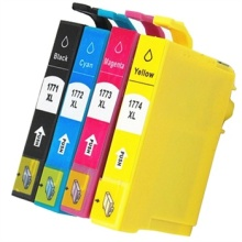 177 Ink Cartridges for Epson T1771 - T1774 For Epson Expression Home XP-102 XP-202 XP-302 XP-402 XP30 XP102 XP202 XP302 XP402 origial print head printhead for epson xp100 xp101 xp102 xp200 xp201 xp202 me500 me535 me560 tx420 tx430 nx420 sx445 sx430w