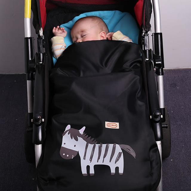 Alta Calidad Cochecito de Bebé Plegable Cubierta Del Sobre Bolsa de Dormir de Invierno Primavera Caliente cochecito de Bebé Cochecitos Accesorios