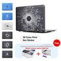Пулевое Отверстие Черный Ноутбук Сумка Для Apple Mac Macbook Pro 15 Чехол/Macbook Pro 13 15 Дюймов С Retina Display A1502