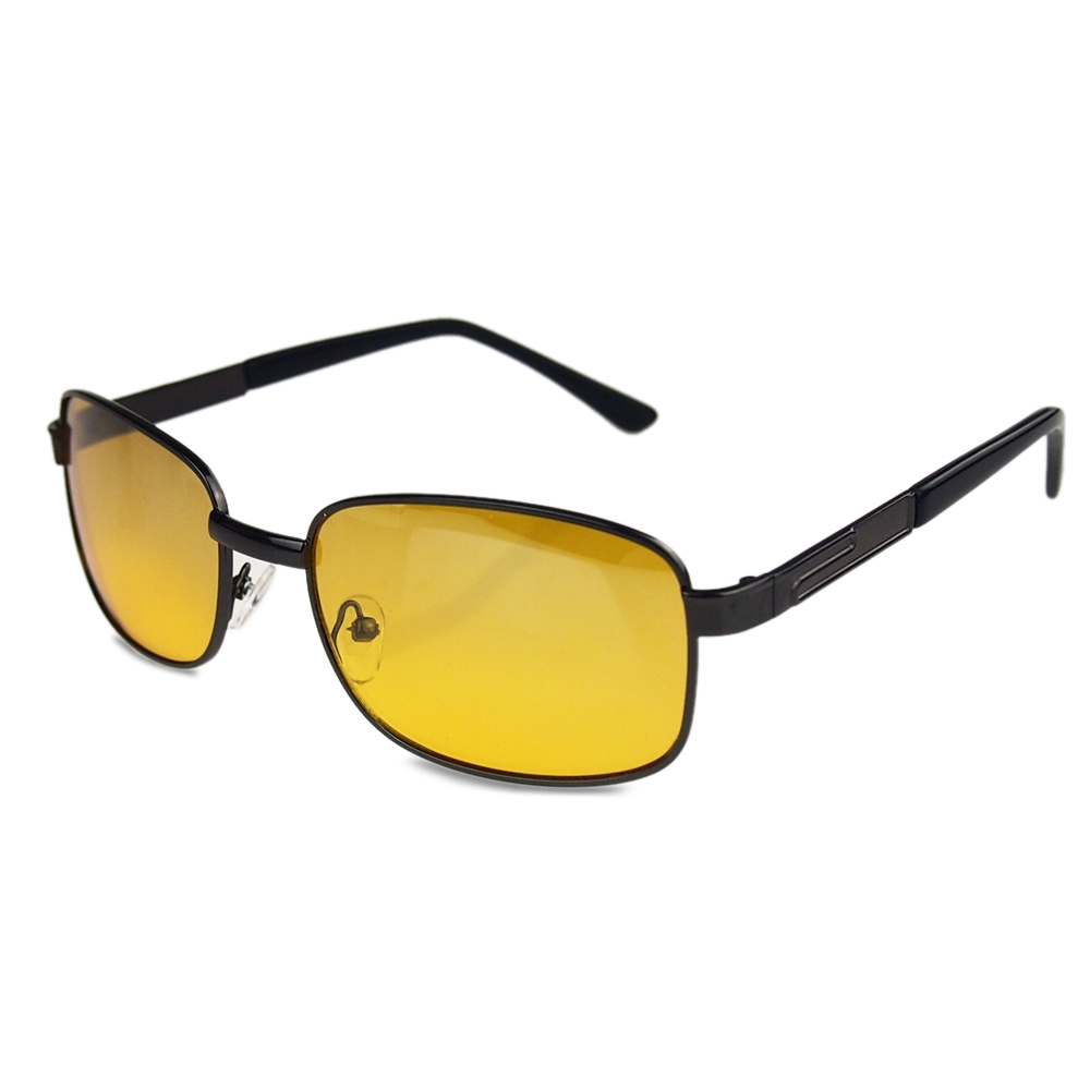 oakley night driving glass  fashion cool unisex classic night vision driving glasses eye glasses yellow lens for driver(