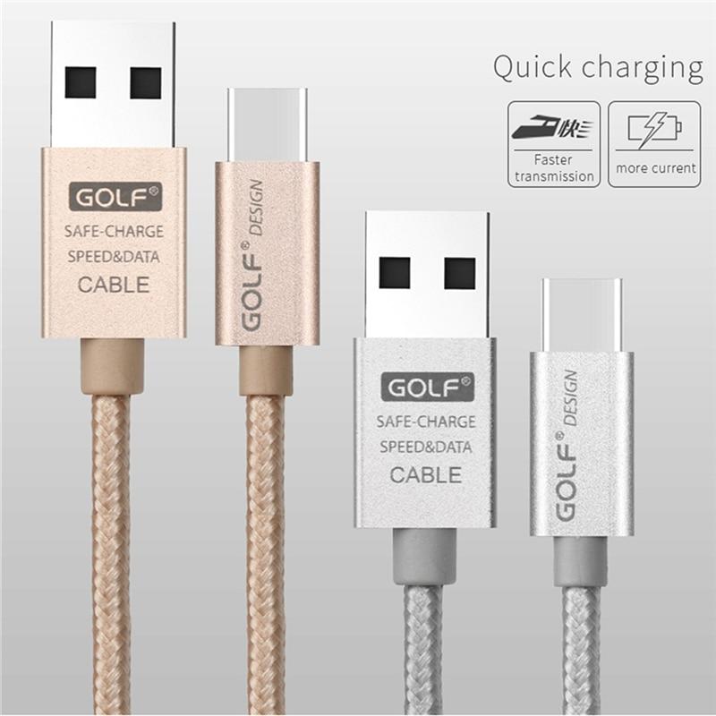 GOLF USB Tipe-C Kabel Sync Data Biaya Untuk Huawei P20 Honor 8 9 10 - Aksesori dan suku cadang ponsel - Foto 5