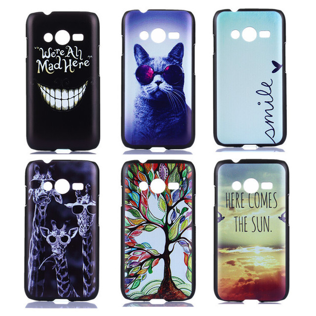 ef44fc0f140 Exclusive Design Painting Phone Case for Samsung GALAXY Ace 4 Lite G313H  Back Cover Skin Capa Para Ace4 Funda Coque Capinha