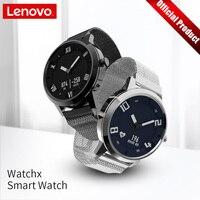 Lenovo часы X механические умные часы OLED экран сапфировое стекло Smartwatch 45 дней в режиме ожидания 80 м водостойкий пульсометр