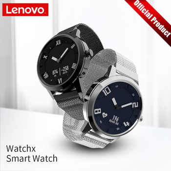 Lenovo Watch X Mechanical Smart Watch OLED Screen Sapphire Glass Smartwatch 45 Days Standby 80 M Waterproof Heart Rate Monitor - DISCOUNT ITEM  53% OFF All Category