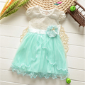 2017 New Summer Baby Girl Dress Lovely Princess Party Dresses Sweet Children's Dresses Ball Gown girls dress 3 4 5 6 years