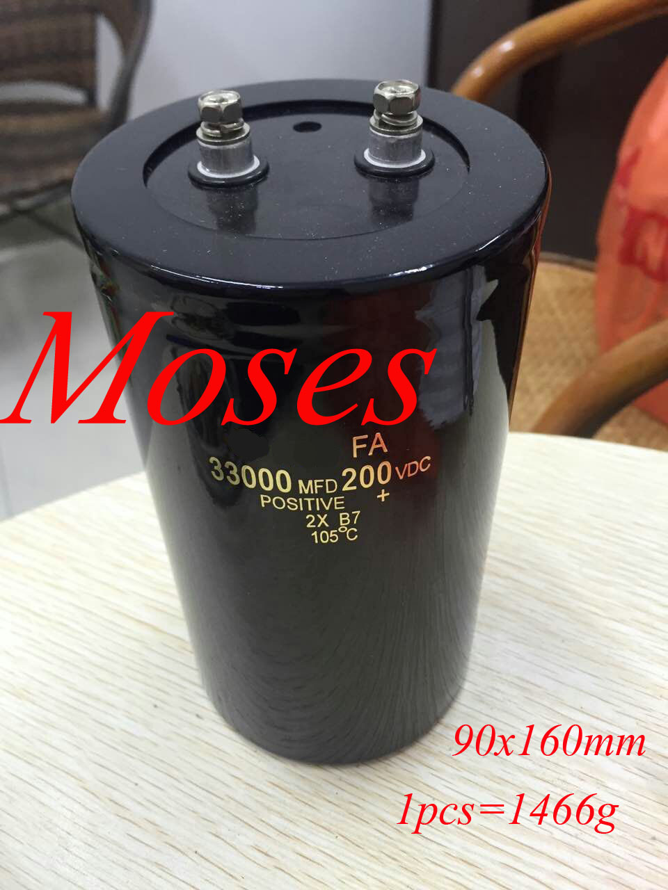 200v 33000uf Electrolytic Capacitor Capacitance Radial 90x160mm 75x170mm 1pcs