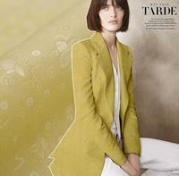 Exquisite Jacquard Silk Fabric Craft Skinny Silk Coat Dressmaking Scarf Material Coat Skirt Clothes Woolen Fabric
