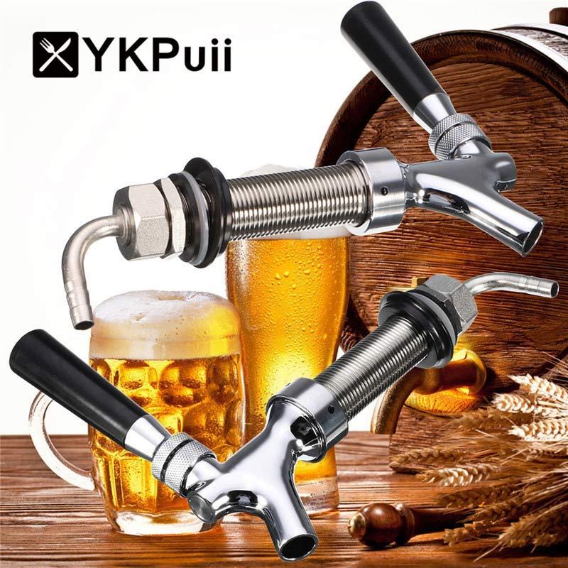 G5/8 Thread Dispenser Draft Beer Faucet With 92.5mm Long Shank Kit ...