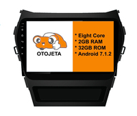 Eight Core Android 7 1 2 2GB RAM OTOJETA Car Dvd FOR HYUNDAI SANTA FE Ix45