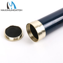 Maximumcatch Fishing Rod Case Carbon Fiber Fly Fishing Rod Tube with Aluminum Cap for Any 9-10 ft, 4-piece Rod.