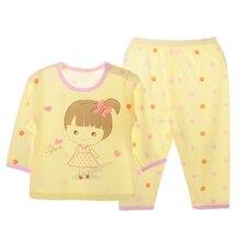 Lovely Cartoon Themed Ultrathin Cotton Baby Girl's Pajamas