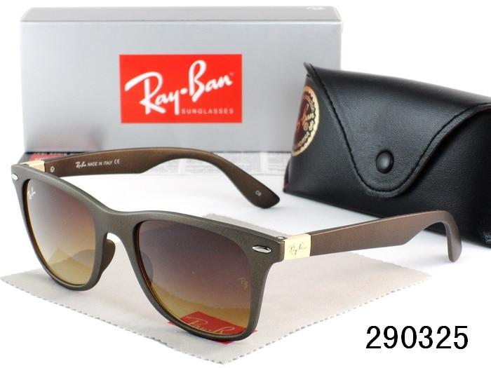 Original RayBan Sunglasses RB4195 Outdoor Glasses Hiking Eyewear RayBan  Men Women Retro 4195 UV Protection Sunglasses Ray Ban-in Hiking Eyewears  from Sports ... d91914dad46f