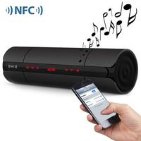 Wireless NFC Speakers Portable Bluetooth FM Radio HIFI LoudSpeakers 6W Stereo Music Surround Computer Speakers For Smart Device