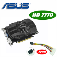 Asus HD7770 FMLII 1GD5 HD 7770 HD7770 1G D5 GDDR5 128 Bit PC Desktop Graphics Video