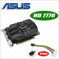 Asus HD7770 FMLII 1GD5 HD 7770 HD7770 1G D5 GDDR5 128 Bit PC Desktop Graphics Video