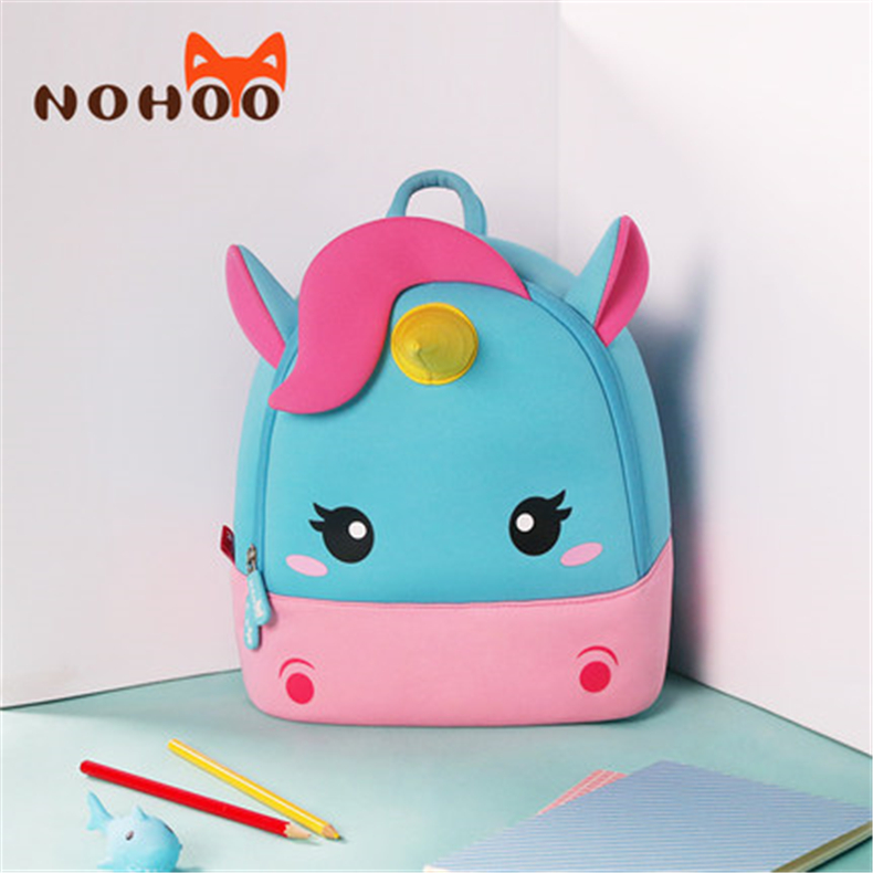 ce94acbc6d US $15.8 10% OFF|Children School Backpack Cartoon Rainbow Unicorn Design  Soft Plush Material For Toddler Baby Girls Kindergarten Kids School Bags-in  ...
