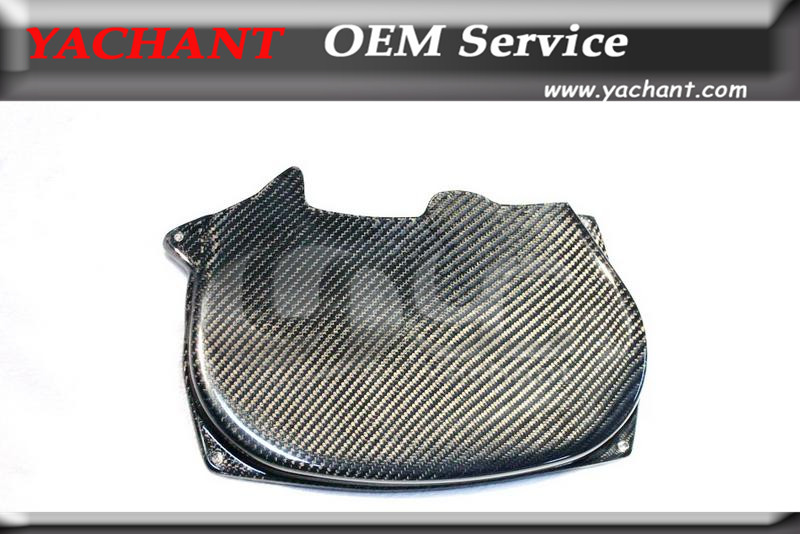 Car Styling Carbon Fiber Cam Gear Belt Cover Fit For 1996-2005 Evolution Evo 4 5 6 7 8 4G63 CT9A Engine Cam Cover vr racing hnbr racing timing belt aluminum cam gear clear cam cover for mitsubishi lancer evolution evo 9 ix mivec 4g63