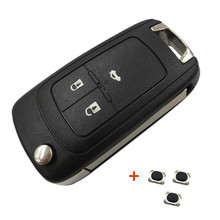 OkeyTech Flip Folding Car Key Shell For Opel Vauxhall Insignia Astra J Vectra Zafira C Omega Mokka Key Case Cover HU100 Blade qwmend car remote key shell for opel vauxhall astra j corsa e insignia zafira c for chevrolet cruze 2009 2015 hu100 blade key