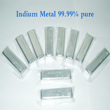 лучшая цена 99.99% Pure Indium Metal On Big Discount 20g/Piece For Sale Cheap Indium Metal For Free Ship