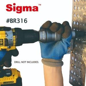 Image 4 - Sigma # BR316 ตาบอด POP Rivet เจาะอะแดปเตอร์ไร้สายหรือไฟฟ้าเจาะอะแดปเตอร์ทางเลือก Air PNEUMATIC rivet rivet Gun